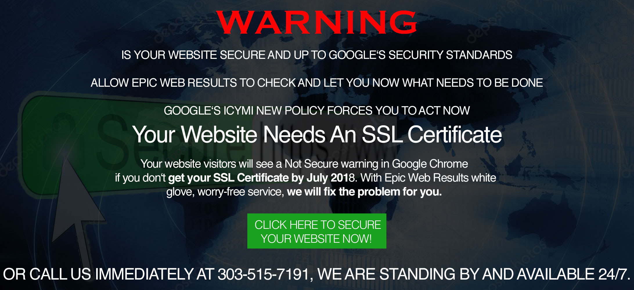 ssl certificate epic web results